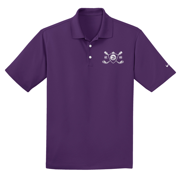 Blues Bogey Nike Dri-FIT Micro Pique Polo (Men) - Night Purple