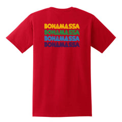 Quadamassa Pocket T-Shirt (Unisex) - Red