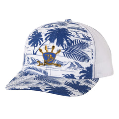 Quadzilla Trucker Hat - Island/Royal