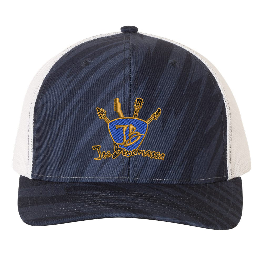 Quadzilla Trucker Hat - Streak/Navy