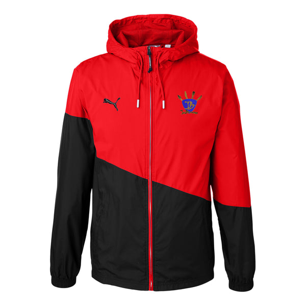 Quadzilla Puma Windbreaker (Unisex) - Red