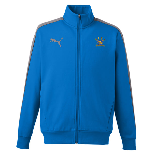 Quadzilla Puma Fleece Track Jacket (Men) - Blue