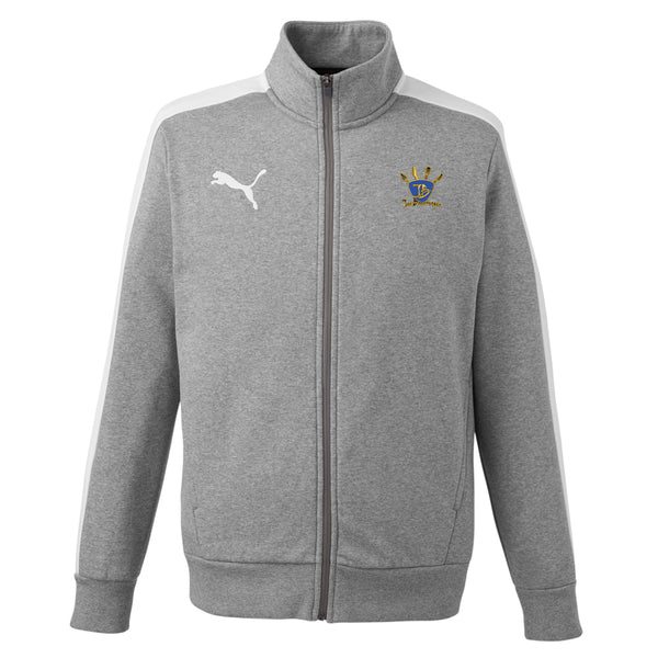 Quadzilla Puma Fleece Track Jacket (Men) - Grey