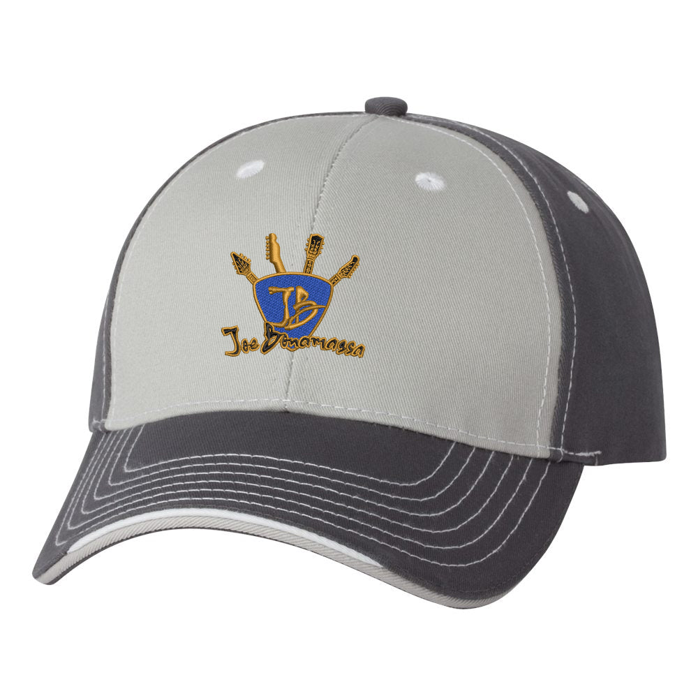 Quadzilla Tri-Color Hat - Grey/Charcoal