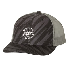 Quality Blues Trucker Hat - Streak/Black