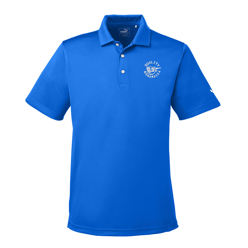 Quality Blues Puma Golf Icon Polo (Men) - Lapis