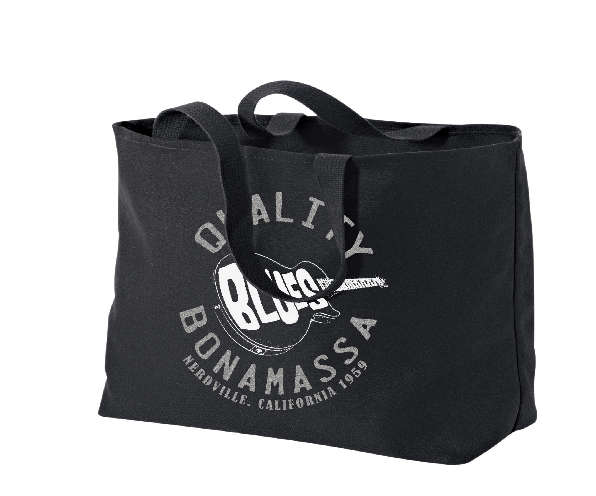 Quality Blues Tote Bag - Silver