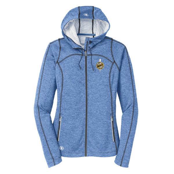 Bonamassa Vintage & Rare Ogio Zip-Up Hoodie (Women) - Blue