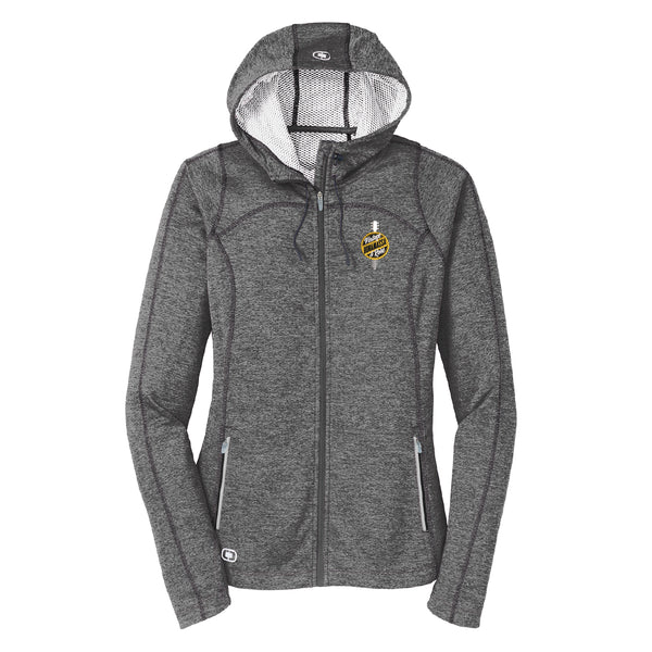 Bonamassa Vintage & Rare Ogio Zip-Up Hoodie (Women) - Grey