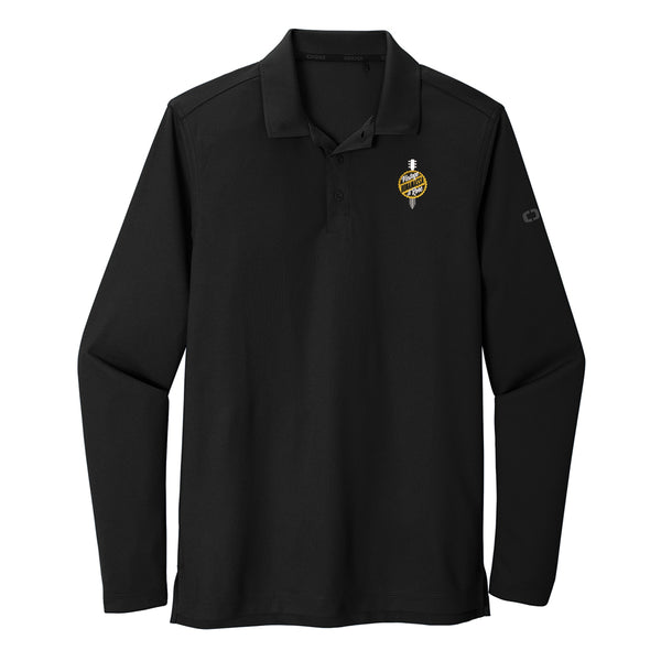 Bonamassa Vintage & Rare Ogio Long Sleeve Polo (Men) - Black
