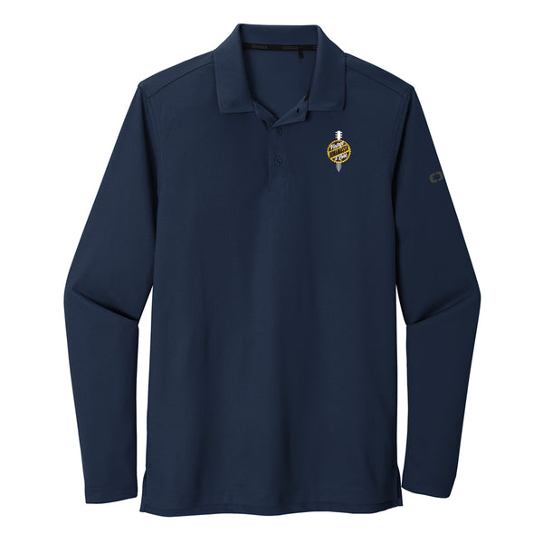 Bonamassa Vintage & Rare Ogio Long Sleeve Polo (Men) - Navy