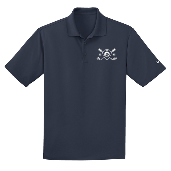 Blues Bogey Nike Dri-FIT Micro Pique Polo (Men) - Navy