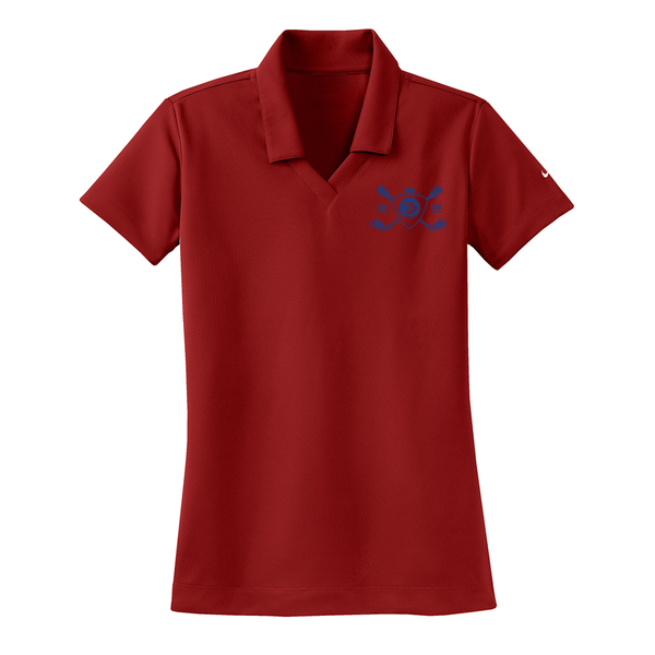 Blues Bogey Nike Dri-FIT Micro Pique Polo (Women) - Varsity Red