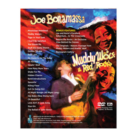 Joe Bonamassa: Muddy Wolf at Red Rocks DVD
