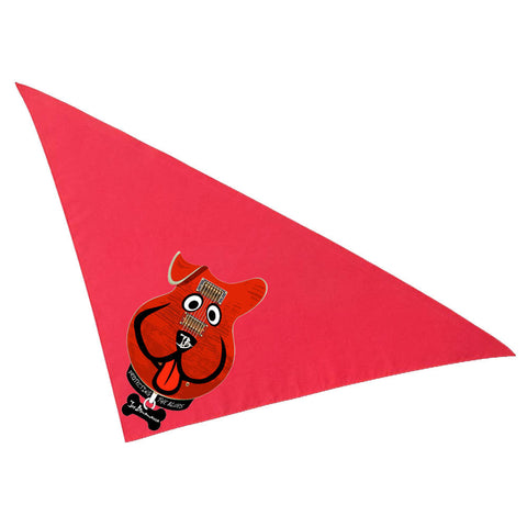 Blues Best Friend Bandana - Red