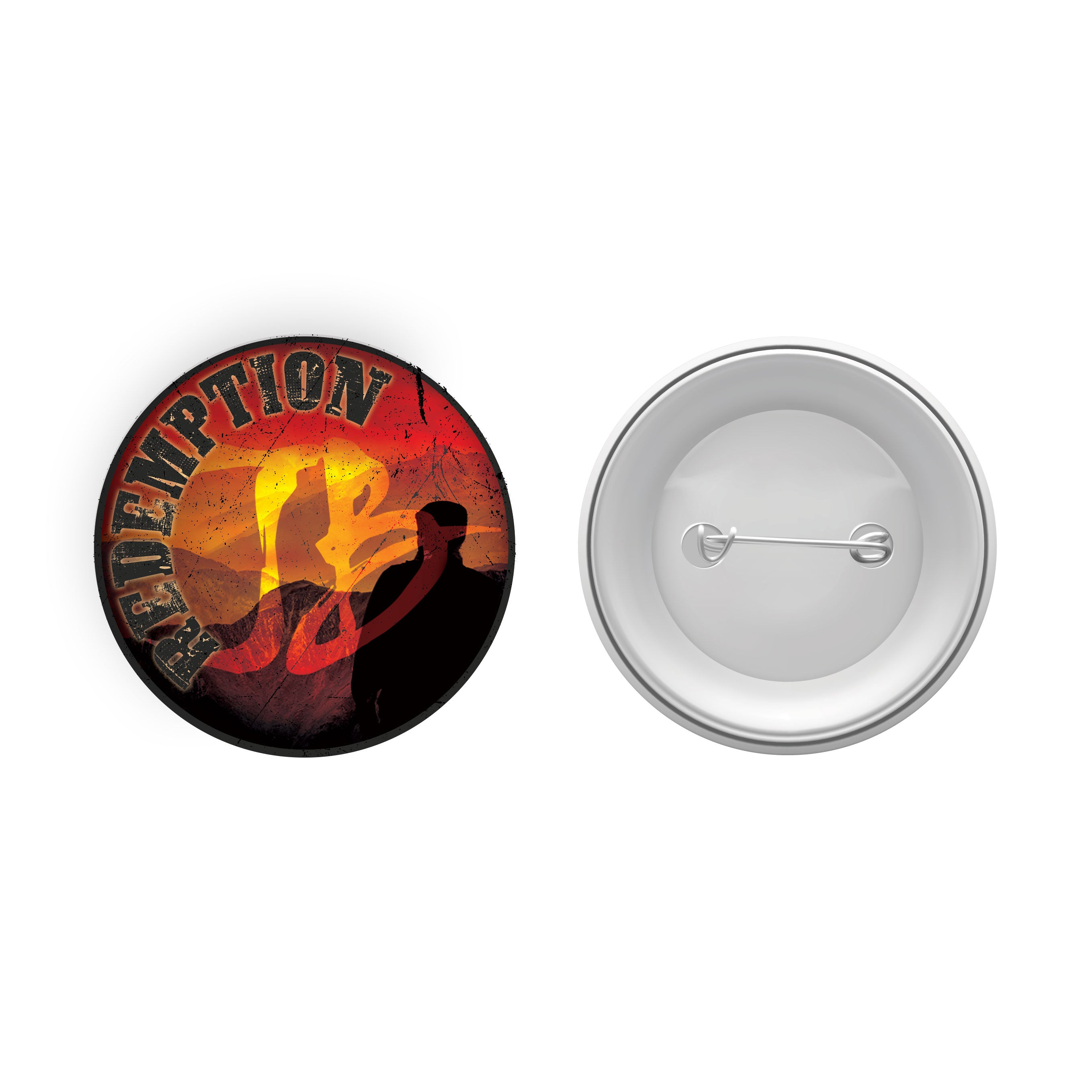 "Redemption 1.5"" Button"