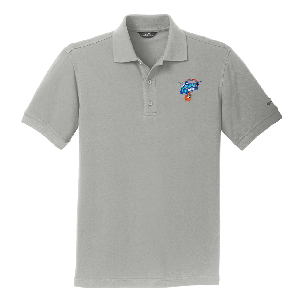 Reel Blues Eddie Bauer Pique Polo (Men) - Chrome