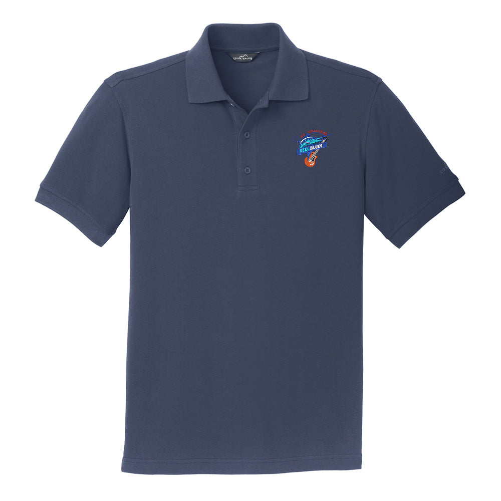 Reel Blues Eddie Bauer Pique Polo (Men) - Navy