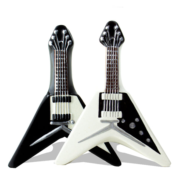 Flying V Salt n Pepper Shaker Set