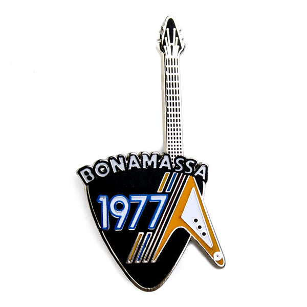 Retro Flying V Pin