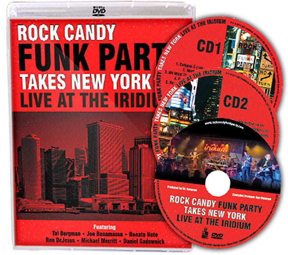 Rock Candy Funk Party Takes New York - Live At The Iridium (DVD/CD) (Released: 2014)