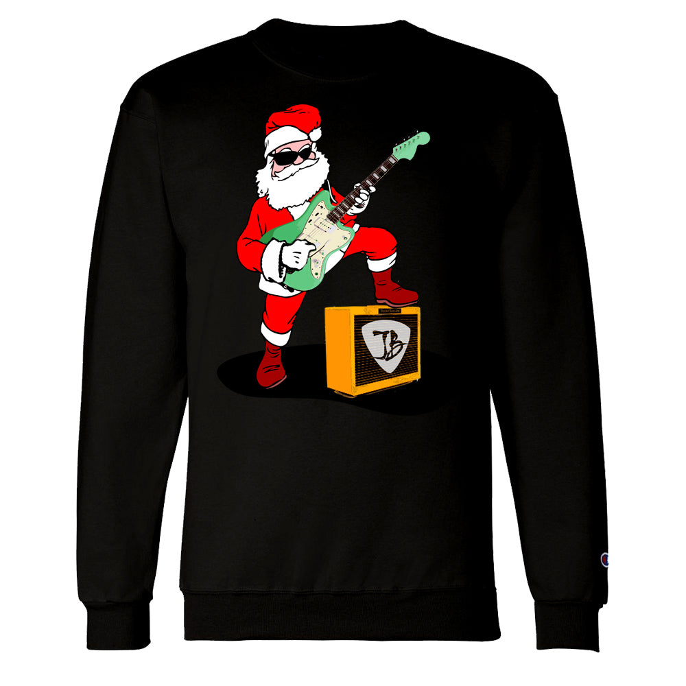 Rockin' Santa Champion Sweatshirt (Men)
