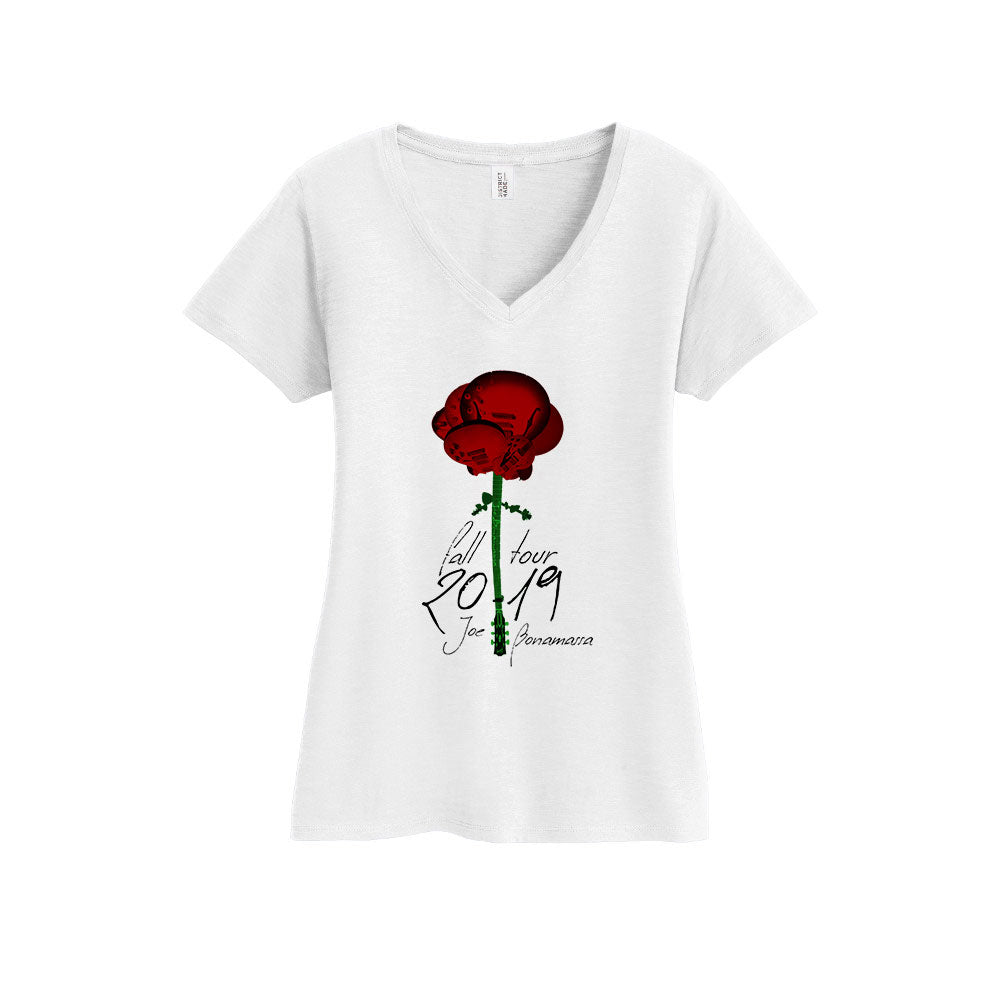 2019 Fall Tour V-Neck (Women) - Rose