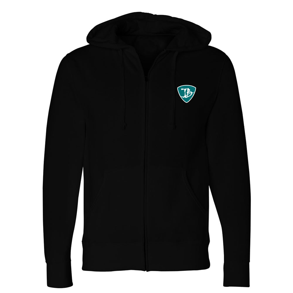 Bonamassa Rowing Team Zip-Up Hoodie (Unisex) - Black