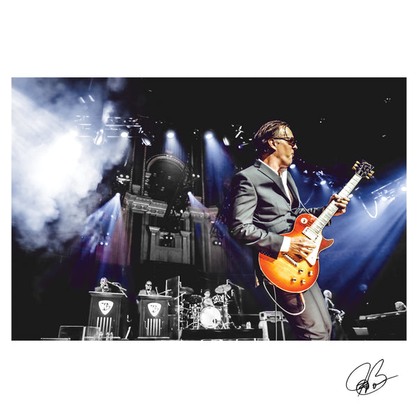 "#35 ""Royal Organ"" JOE BONAMASSA Collectible Litho (UNFRAMED - INTERNATIONAL ONLY)"