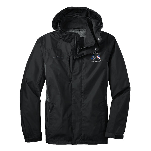 Sailin' Blues Eddie Bauer Rain Jacket (Men) - Black