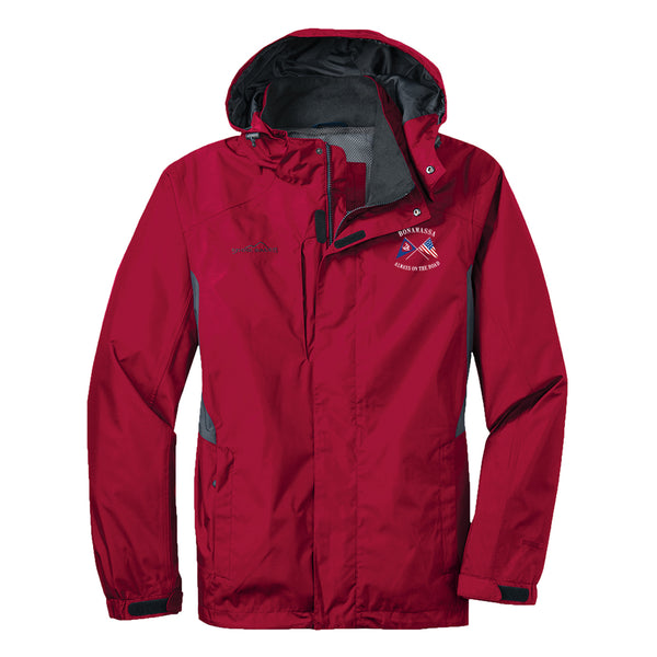 Sailin' Blues Eddie Bauer Rain Jacket (Men) - Red