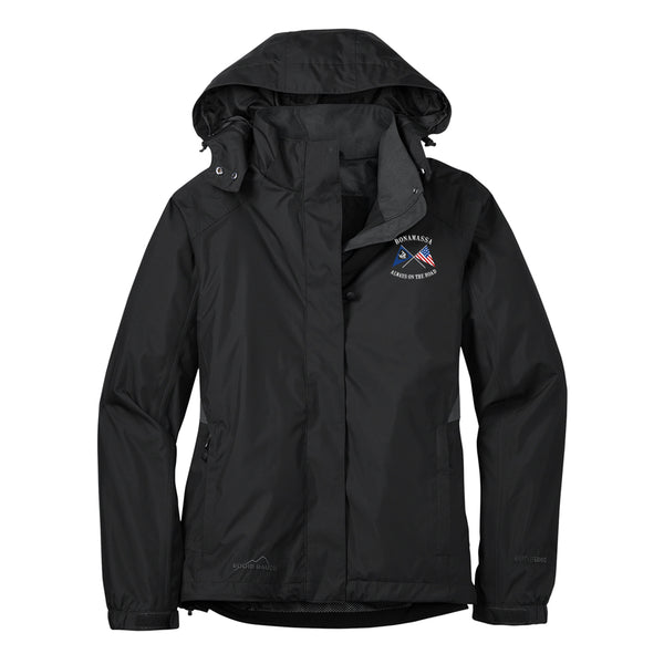 Sailin' Blues Eddie Bauer Rain Jacket (Women) - Black