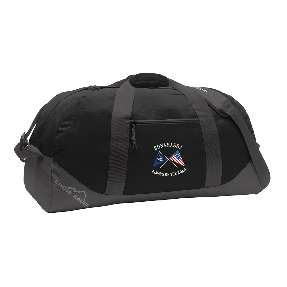 Sailin' Blues Eddie Bauer Duffle Bag - Black