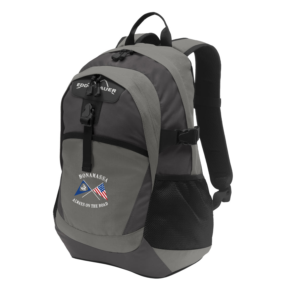 Sailin' Blues Eddie Bauer Backpack - Grey