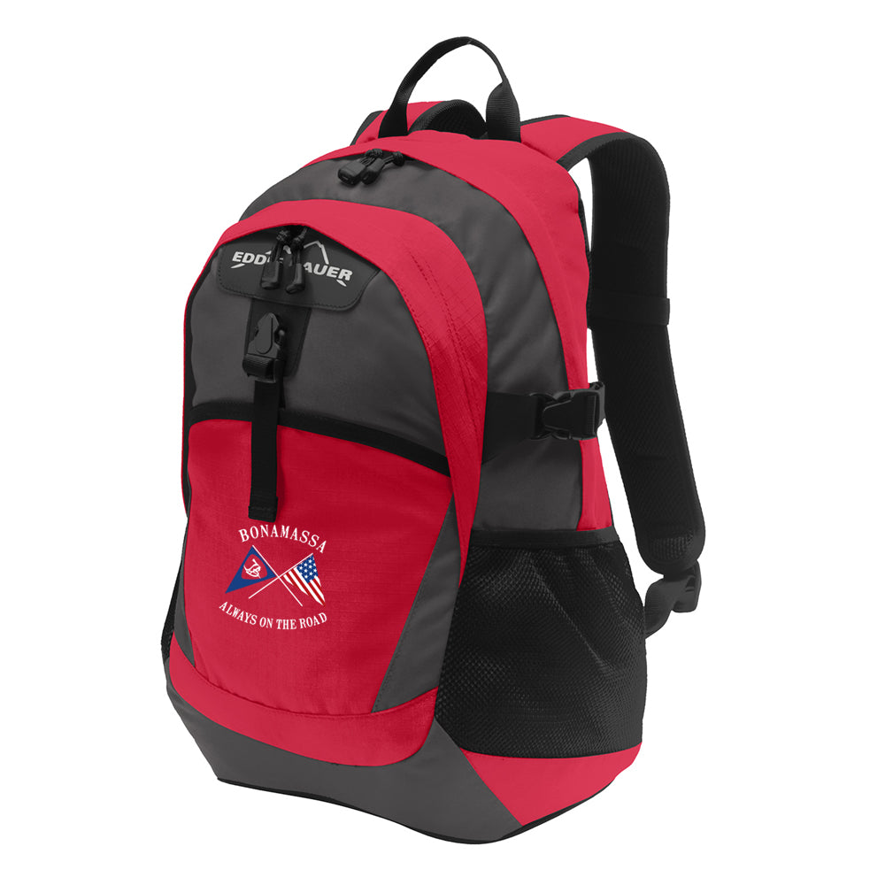 Sailin' Blues Eddie Bauer Backpack - Red