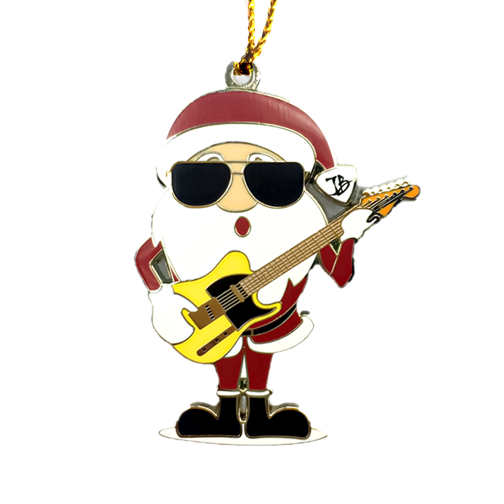 Blues Band Holiday Ornament/Pin Set
