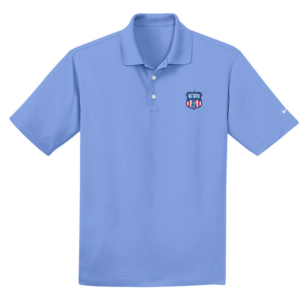 Bonamassa Blues Nike Dri-FIT Micro Pique Polo (Men) - Valor Blue
