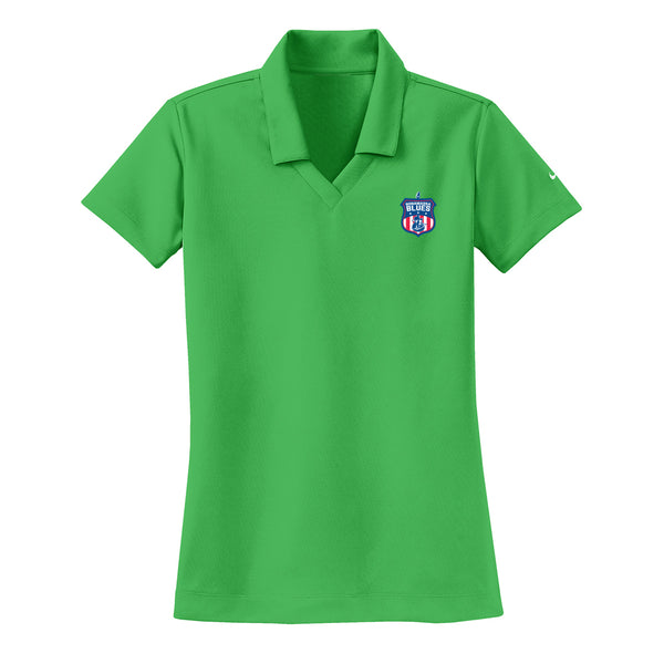 Bonamassa Blues Nike Dri-FIT Micro Pique Polo (Women) - Lucky Green