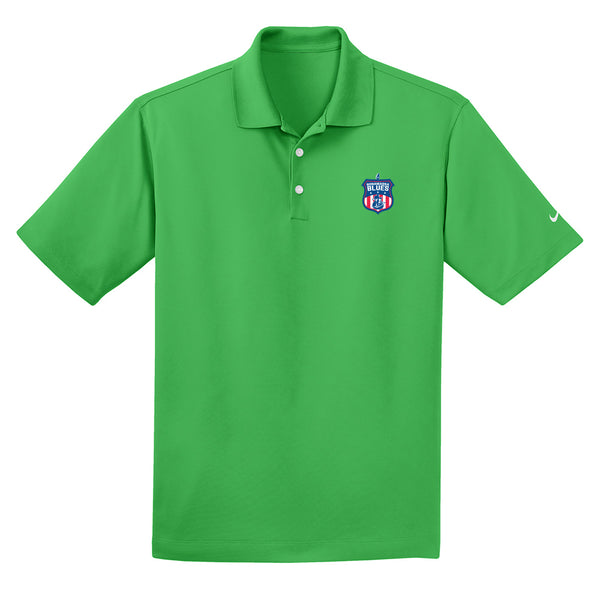 Bonamassa Blues Nike Dri-FIT Micro Pique Polo (Men) - Lucky Green