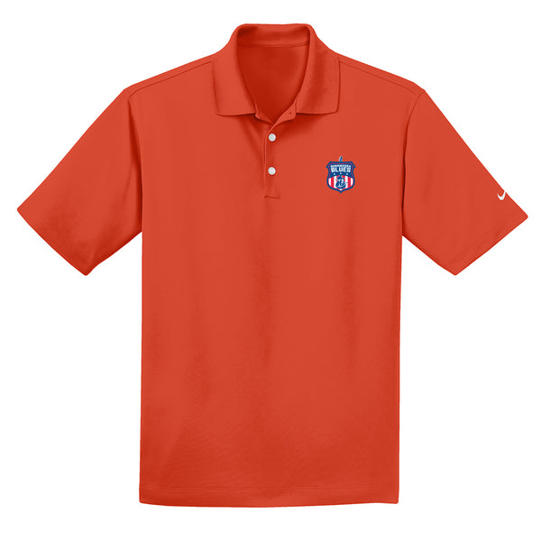 Bonamassa Blues Nike Dri-FIT Micro Pique Polo (Men) - Team Orange
