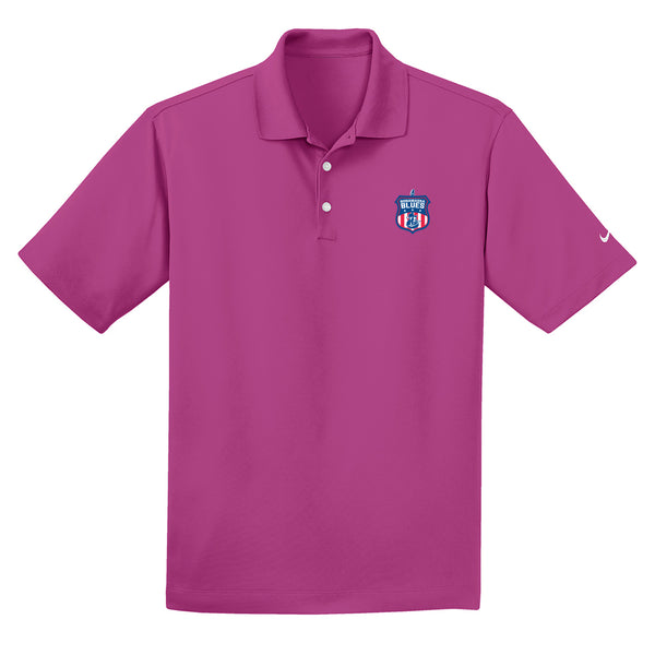 Bonamassa Blues Nike Dri-FIT Micro Pique Polo (Men) - Fusion Pink