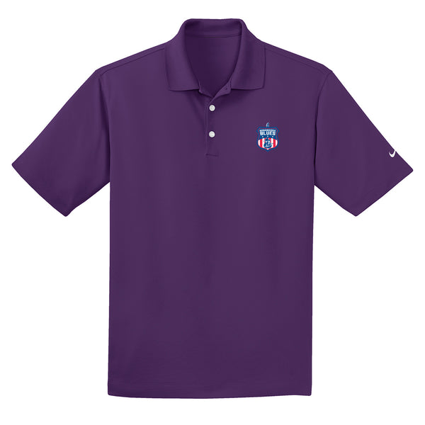 Bonamassa Blues Nike Dri-FIT Micro Pique Polo (Men) - Night Purple
