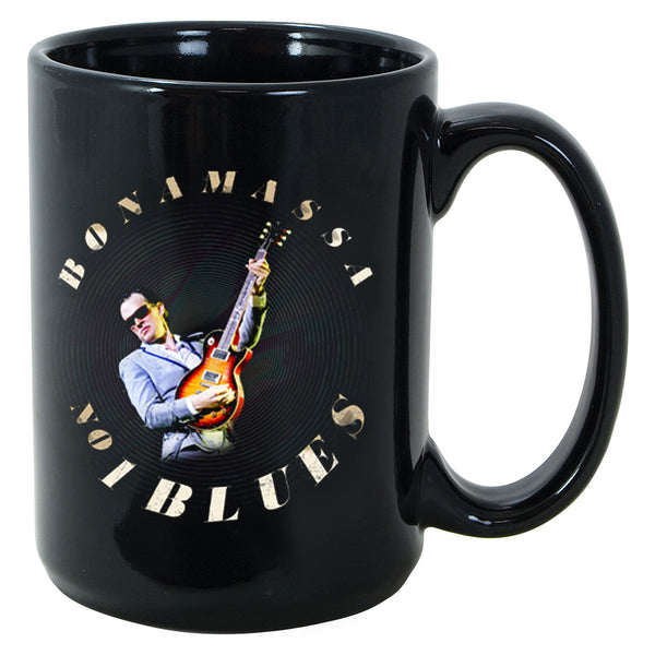 Blues Number One Round Logo Mug