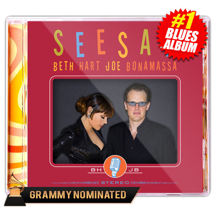 Beth Hart & Joe Bonamassa - SeeSaw (CD) (Released: 2013)