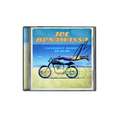 Joe Bonamassa: Different Shades of Blue (CD) (Released: 2014) - Hand-Signed