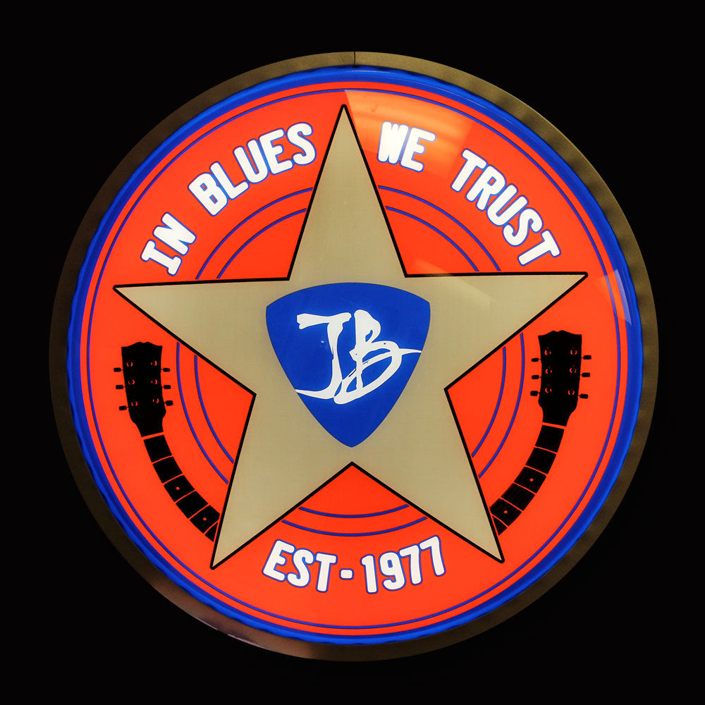 "In Blues We Trust 15"" LED Sign"
