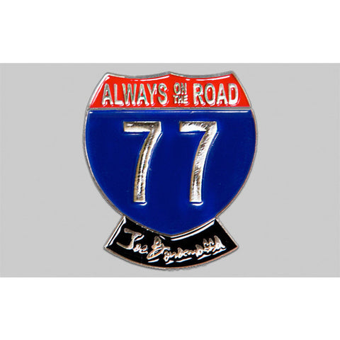 2014 Always On The Road Silver Tour Pin – Everyday Pin