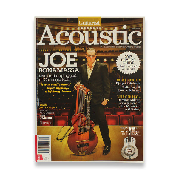 The Acoustic Guitar Player's Guide 19th Edt. - Hand-Signed