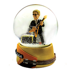 Flying V Snow Globe