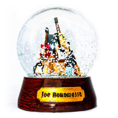 Guitar Mountain Snow Globe
